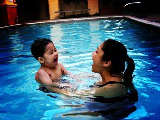 apprendre a nager enfant