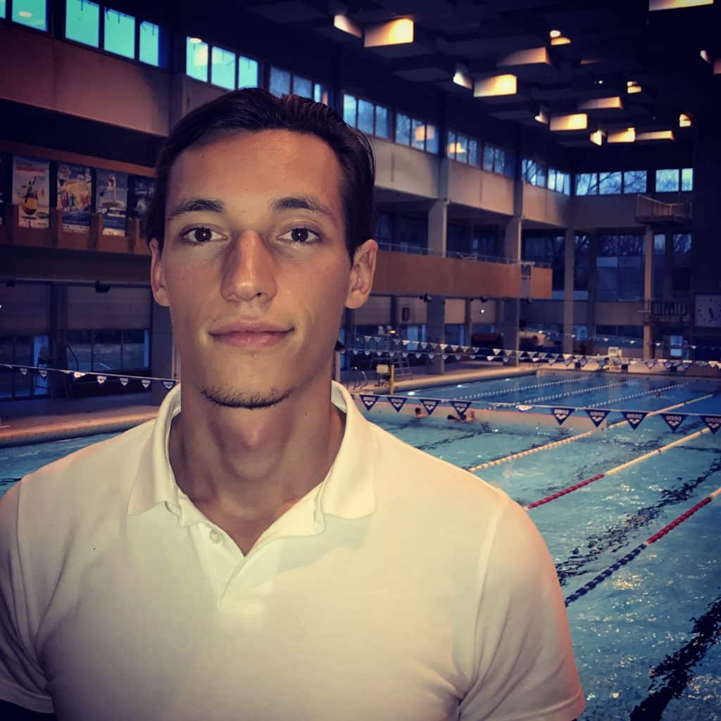 thomas routier coach natation