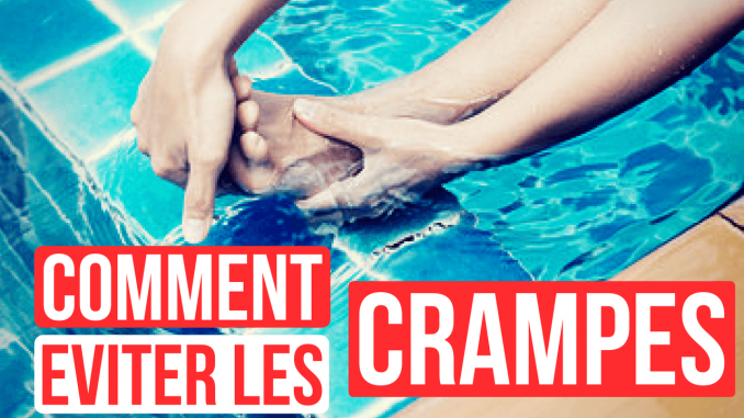 crampes natation