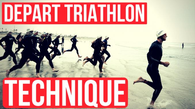 départ triathlon