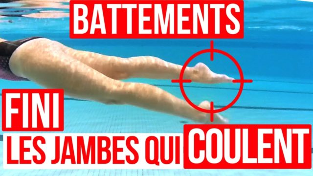 battements natation