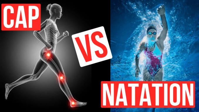 natation vs course à pieds