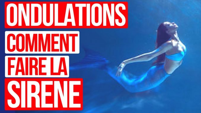 ondulations natation