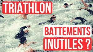 triathlon battements de jambes natation