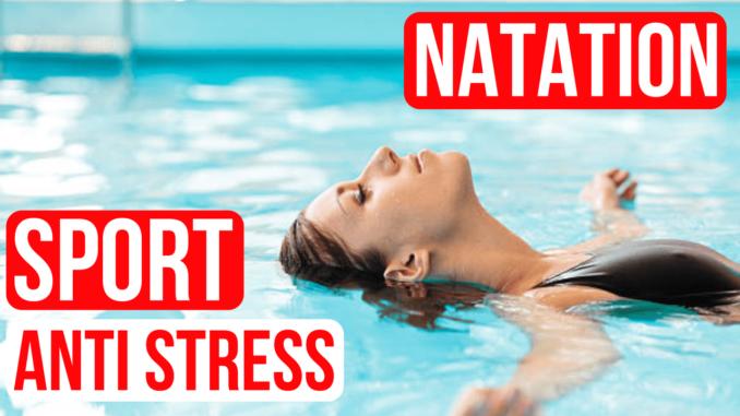 natation sport anti stress