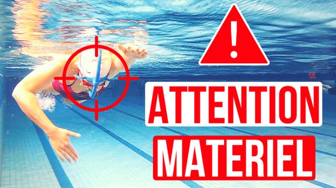 matériel natation |apprendre à nager le crawl
