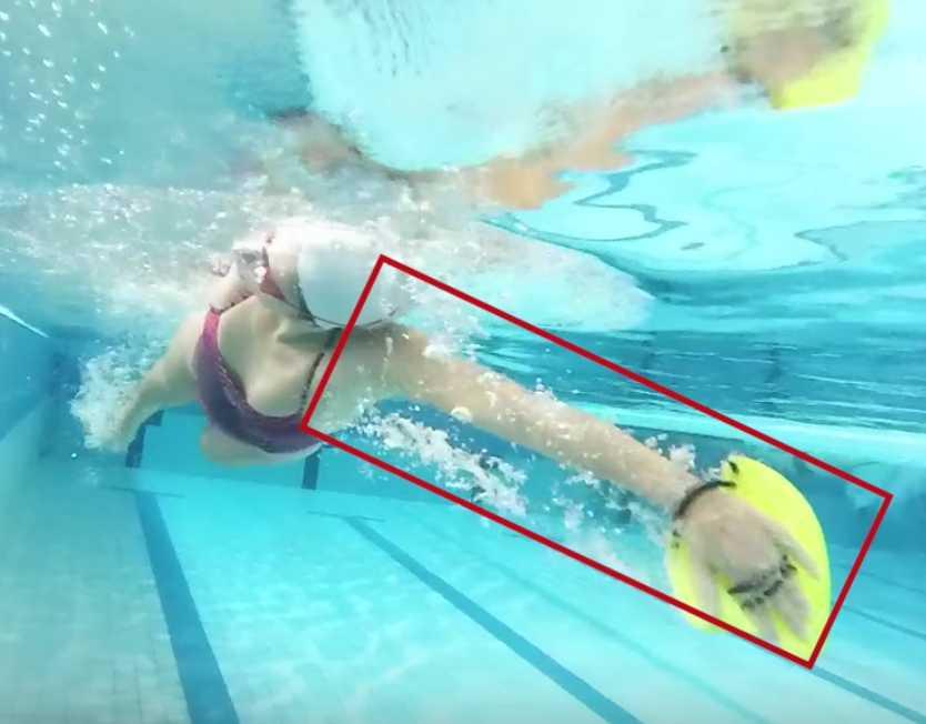 tendinites natation