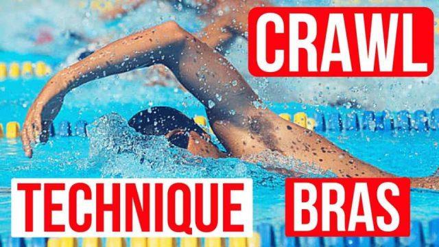Technique bras Crawl