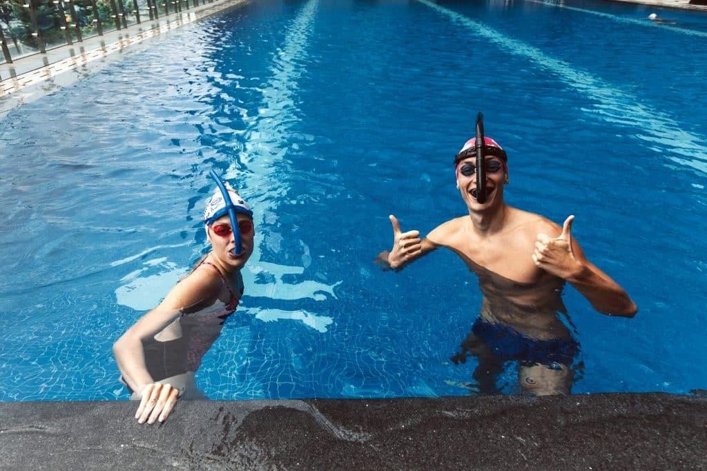 Mon coach de natation
