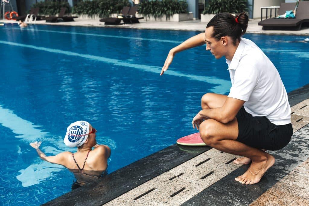 Thomas Routier, mon coach de natation