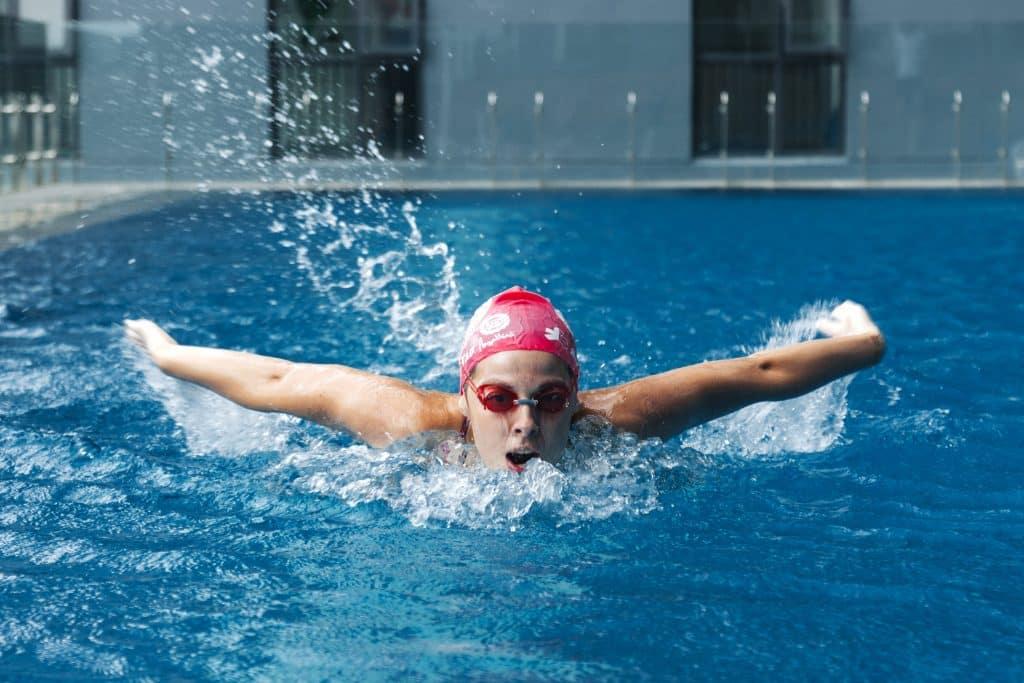 Camille Leuregans, mon coach de natation