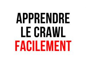 apprendre le crawl facilement