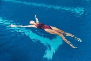 aquaphobie flotter sur l'eau