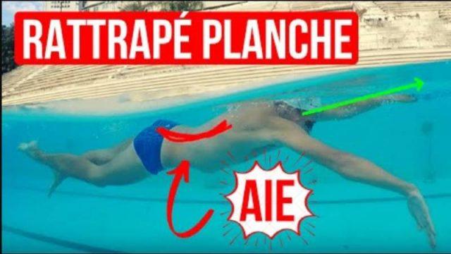 Rattrapé planche éducatif crawl