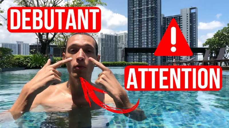 cours natation vidéo pour apprendre a nager adulte