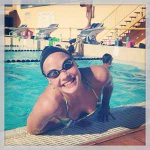 Blandine Tantart coach natation