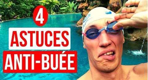 4 astuces anti-buée natation