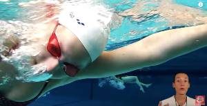 Respiration natation expiration