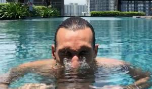 Nez dans l'eau