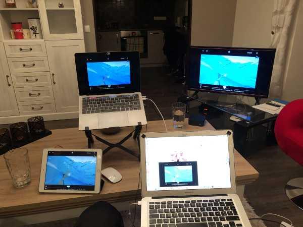 écrans set up mon coach de natation