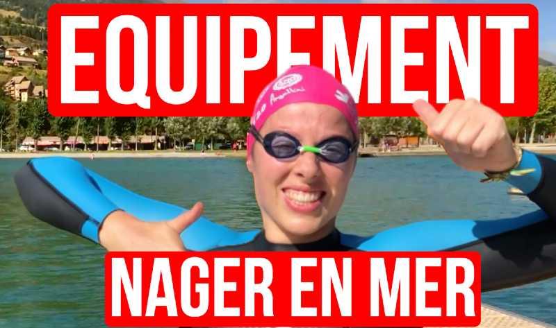 Nager en mer équipement