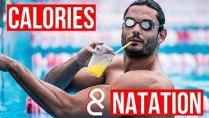 calories natation